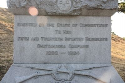 Erected by the State of Connecticut Marker image. Click for full size.
