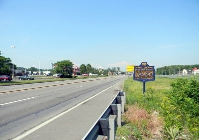 Wide view of the Albany Purchase Marker image. Click for full size.