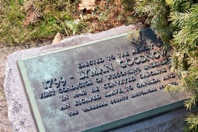 Lyman Goodnow Marker image. Click for full size.