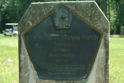 In Memory of Dr. Charlotte Hawkins Brown Marker image. Click for full size.