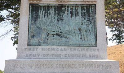 First · Michigan · Engineers Marker image. Click for full size.