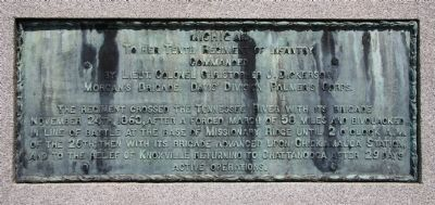 Tenth Michigan Infantry Marker image. Click for full size.
