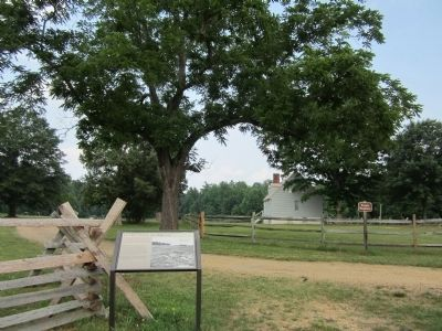 Gaines' Mill Battlefield near the Watt House image. Click for full size.