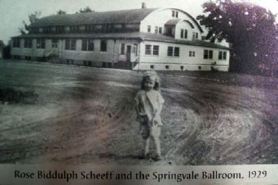 Photo on Springvale Ballroom Marker image. Click for full size.