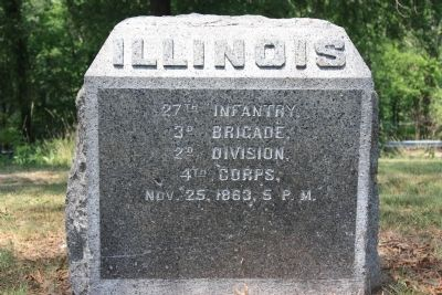 27th Illinois Marker image. Click for full size.