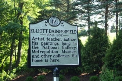 Elliott Daingerfield Marker image. Click for full size.