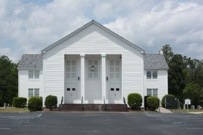 Sandy Level Baptist Church, as mentioned image. Click for full size.