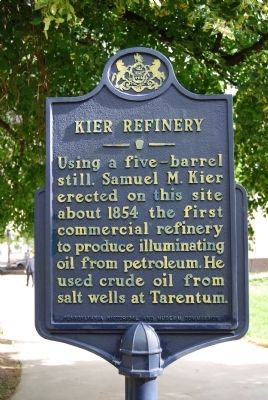 Kier Refinery Marker image. Click for full size.