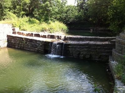 Stone Dam at Allen Station image. Click for full size.