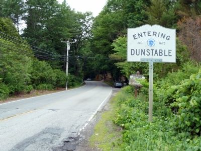 View Entering Dunstable from Tyngsborough image. Click for full size.