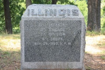 51st Illinois Marker image. Click for full size.