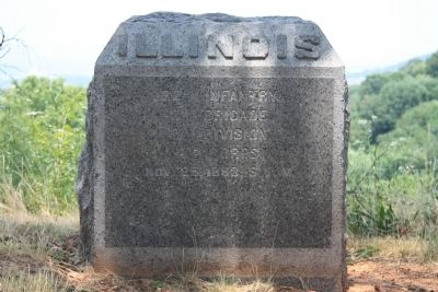 22nd Illinois Marker image. Click for full size.