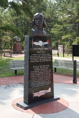 Tuskegee Airmen Memorial image. Click for full size.