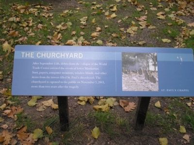 The Churchyard Marker image. Click for full size.