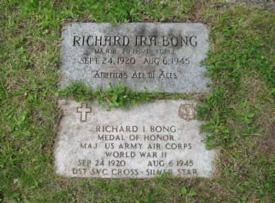 Major Bong Grave image. Click for full size.