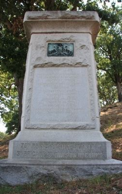 75th Pennsylvania Infantry Marker image. Click for full size.