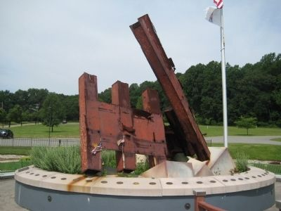 Morris County 9/11 Memorial image. Click for full size.