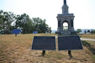Battle of Chattanooga. Marker image. Click for full size.