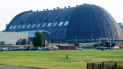 View of Airdock from Derby Downs image. Click for full size.