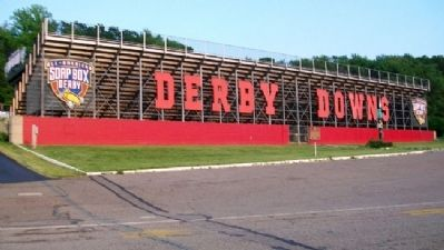 The Soap Box Derby Marker at Derby Downs image. Click for full size.