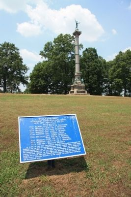 Woods' Brigade Marker image. Click for full size.