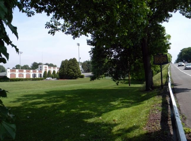 Wide view of the Bucknell University Marker image. Click for full size.