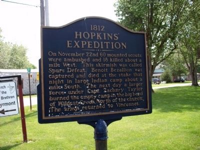 Up-Date Photo 2011 - - 'Hopkins Expedition' Side - Marker image. Click for full size.