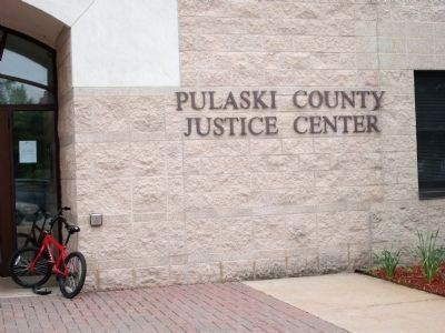 Pulaski County Justice Center - - North of Courthouse - Short Walk image. Click for full size.