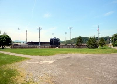 Site of the first organized Little League game image. Click for full size.