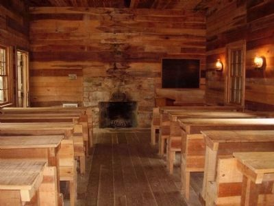 Biltmore Forest School interior image. Click for full size.