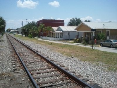 Railroad Tracks Through Ybor City image. Click for full size.