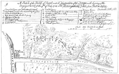 Fort Duquesne Battle Plan image. Click for full size.