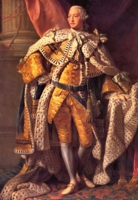 King George III image. Click for full size.