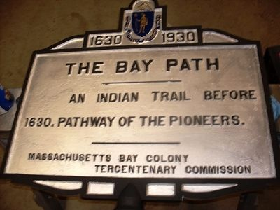 The Bay Path Marker image. Click for full size.