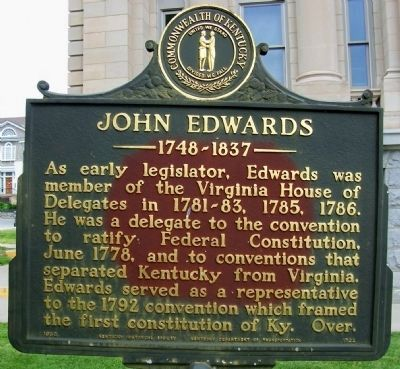 John Edwards 1748-1837 side of the marker image. Click for full size.