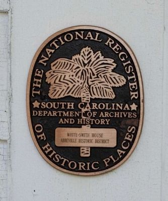 White-Smith House (1881)<br>National Register Medallion image. Click for full size.