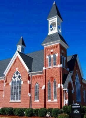 Abbeville Presbyterian Church (ca. 1887)<br>301 North Main Street image. Click for full size.