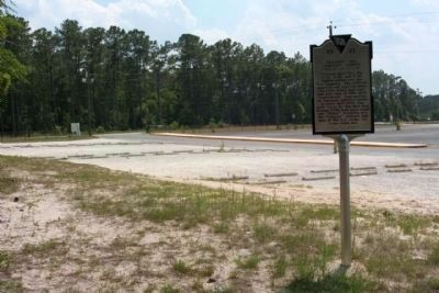 Training the Tuskegee Airmen Marker, as seen near Mighty Cougar Drive image. Click for full size.
