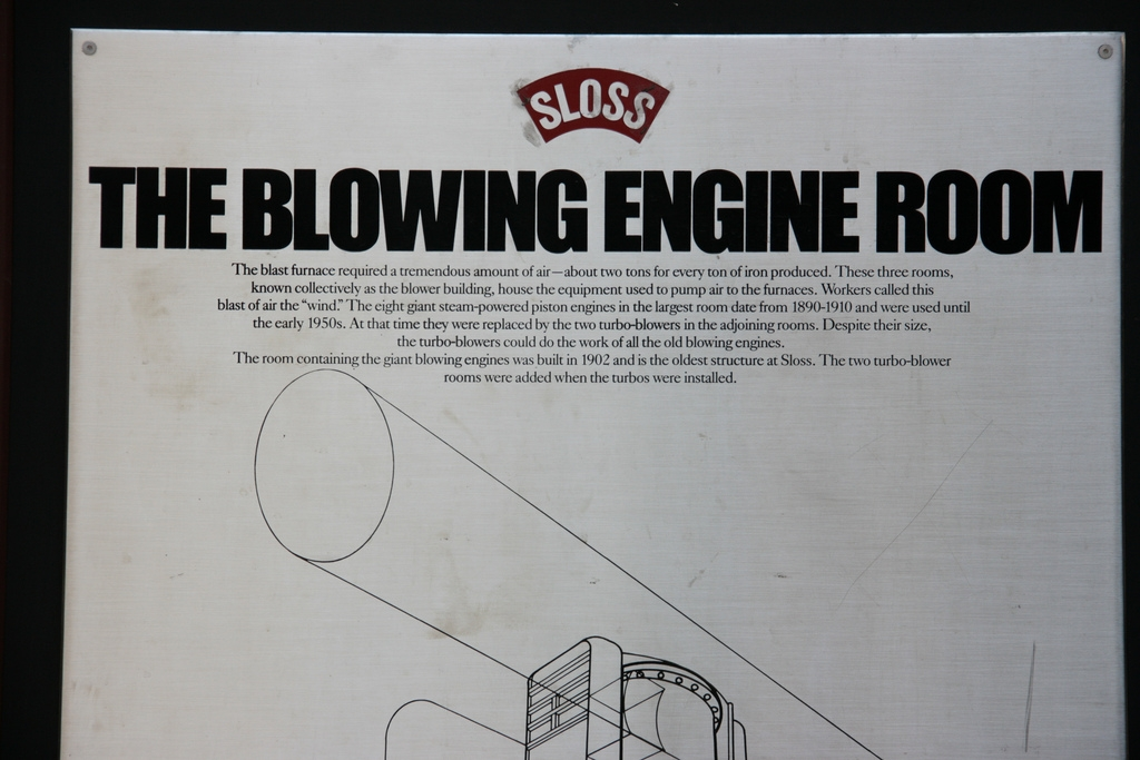 The Blowing Engine Room Marker (Top)