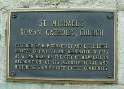 St. Michael's Roman Catholic Church Marker image. Click for full size.