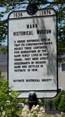 Mann Historical Museum Marker image. Click for full size.