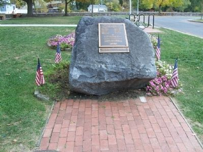 Hightstown World War II Memorial image. Click for full size.