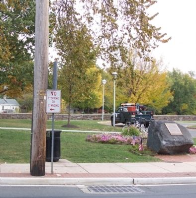 Marker in Hightstown image. Click for full size.