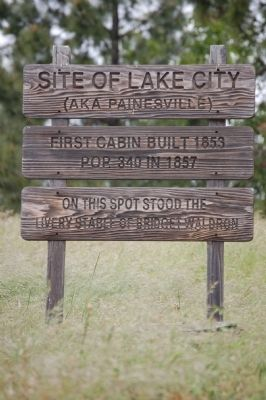 Site of Lake City Marker image. Click for full size.