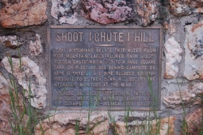 Shoot (Chute) Hill Marker image. Click for full size.