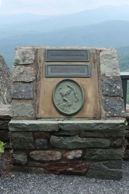 The Legend Of The Blowing Rock Marker image. Click for full size.