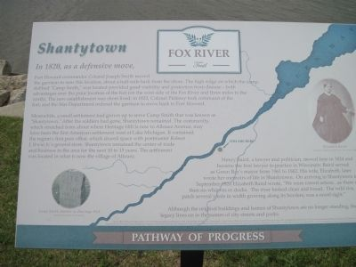 Shantytown Marker image. Click for full size.