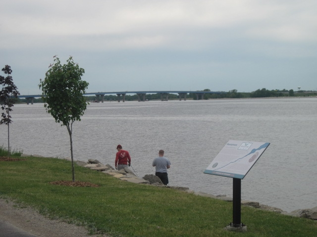 Marker and the Fox River