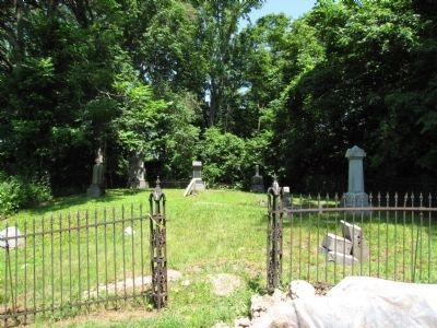 Cemetery gates image. Click for full size.