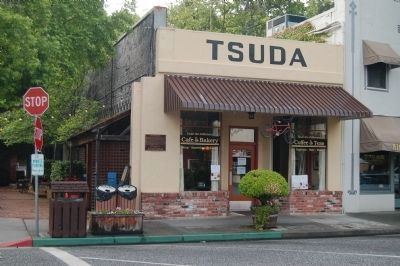 The Tsuda Grocery and Marker image. Click for full size.